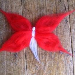 Hada Mariposa lana DIY