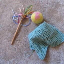 La Cesta de los Tesores IV: el pañuelo de algodón DIY