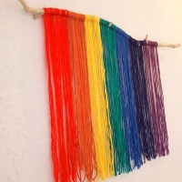Tapiz Arco Iris DIY