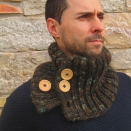 Forest Snood (Patrón gratis)