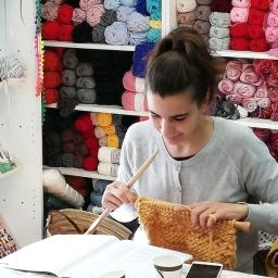 Knitting Party, tejiendo lazos…